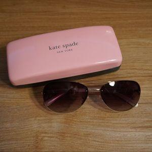 Kate Spade Beryls Aviator Sunglasses